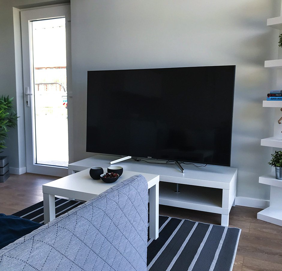 inrerion renon house TV
